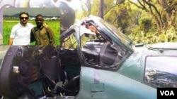 MI-24-ის კატასტროფის ადგილზე ოსორაული ტყვედ ჩავარდა