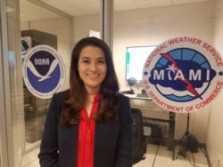 Meteoróloga María Torres dialoga sobre Matthew
