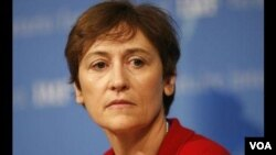 卡羅琳•阿特金森-美國國家安全委員會主管國際經濟的副安全顧問。