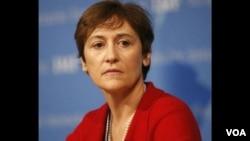 卡罗琳·阿特金森-美国国家安全委员会主管国际经济的副安全顾问。