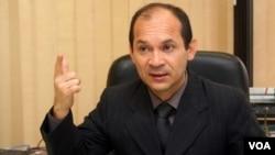"""El ministro de Educación Superior, Edgardo Ramírez, desestimó la movilización y culpó a las universidades autónomas de """"no manejar bien sus presupuestos""""."""