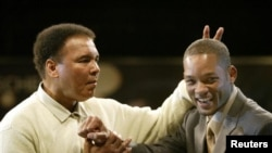 Muhammad Ali i glumac Will Smith