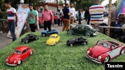 Pameran dagang berbagai mobil produksi Jerman di kota Mashhad, Iran (foto: ilustrasi).