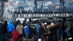 乌克兰的抗议示威持续蔓延