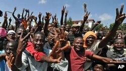 'Yan Guinea masu jiran sakamakon zabe