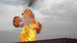 انفجار در خط لوله گاز در مصر