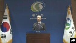 현인택 한국 통일부 장관