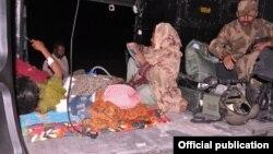巴基斯坦軍隊設立救援營地支援地震難民