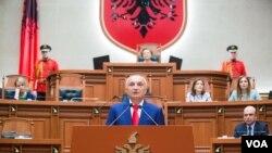 Presiden baru Albania Ilir Meta