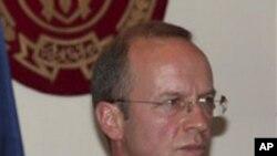 Coalition forces spokesman General Josef Blotz (file photo)