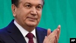 O'zbekiston rahbari Shavkat Mirziyoyev
