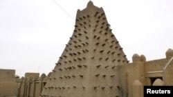 Мали. Тимбукту. Исторические памятники.