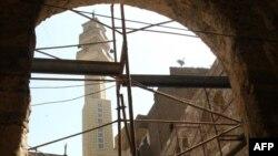 Dans le quartier de Gamaliya, dans le vieux Caire, le 20 août 2009.
