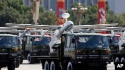 Pesawat-pesawat tak berawak buatan China. (Foto: Dok)