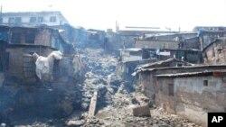 Evidence of Sierra Leone's civil war remains
