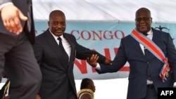Tête à tête à Kinshasa entre Félix Tshisekedi et Joseph Kabila, ce lundi
