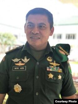 Kapendam XVII Cendrawasih Kolonel Inf. Muhammad Aidi. (Foto courtesy: Kapendam VXII Cendrawasih Papua)