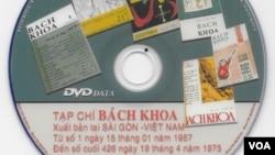 CD toàn bộ tạp chí Bách Khoa đã được 'số hóa'