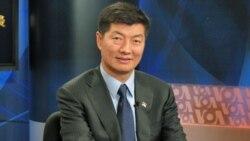 مراسم تحليف نخست وزير جديد تبتی های در تبعيد