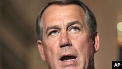 Speaker of the US House of Representatives John Boehner (file photo)