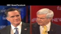 2012-01-09 粵語新聞: 美共和黨總統參選人新罕佈什爾再度交鋒