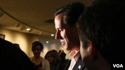 Las encuestas sitúan a Rick Santorum por delante de Romney en el estado de Minnesota.