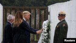 သမၼတ Trump 9/11 ႏွစ္ပတ္လည္အခမ္းအနားတက္ေရာက္