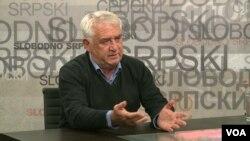 Momčilo Trajković, potpredsednik Srpskog nacionalnog foruma