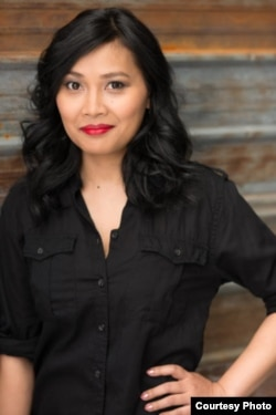 "Sambath Meas, a Cambodian-born U.S. writer, just finishes her debut novel called, ""The Governor's Daughter: The Scribe of Brahmadhan."" (Courtesy Photo)"