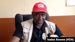 António José, secretário-geral da União dos Sindicatos de Malanje espera adesão de outros movimentos
