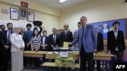 თურქეთში საპარლამენტო არჩევნები მიმდინარეობს