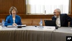 Кэтрин Эштон и Джавад Зариф