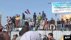 Протестувальники на площі Тагрір у Каїрі