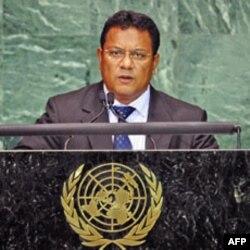 Nauru prezidenti Markus Stiven