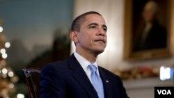 Según una encuesta reciente la tasa de aprobación de Obama cayó a menos de 50% por primera vez desde que asumió el cargo.