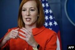 Sekretaris Pers Gedung Putih, Jen Psaki.