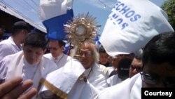 Monseñor Jorge Solórzano, Obispo de la Diócesis de Granada, dice que las actividades por la paz y la justicia coincidirán con las fiestas patrias.