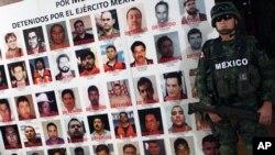 Los cuerpos de las 49 personas fueron localizados en el poblado de San Juan, municipio de Cadereyta, Nuevo León, el pasado 13 de mayo.