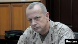 U.S. General John Allen in Kabul, April 4, 2012.