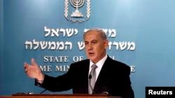 Izraelski premijer Benjamin Netanjahu, 2. decembar 2014.