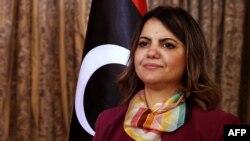 Najla al-Mangoush, minisitiri w'ububanyi n'amahanga wa Libiya