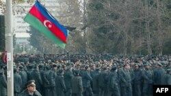 Azerbaycan'da Polis Yarınki Gösteriyi Önlemeye Çalışıyor