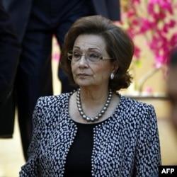 Suzan Muborak, sobiq prezidentning rafiqasi