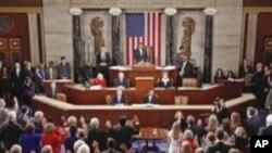 نئی امریکی کانگریس کا پہلا اجلاس