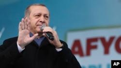 Rais Recep Tayyip Erdogan