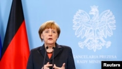 德国总理默克尔3月12日发表讲话