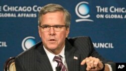 Cựu thống đốc bang Florida Jeb Bush hiện đang đứng đầu trong các cuộc thăm dò giữa các đối thủ Đảng Cộng Hòa