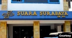 Kantor Radio Suara Surabaya. (Foto: Suara Surabaya)