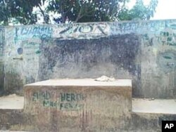 One of the water kiosks that were closed in Ndirande township