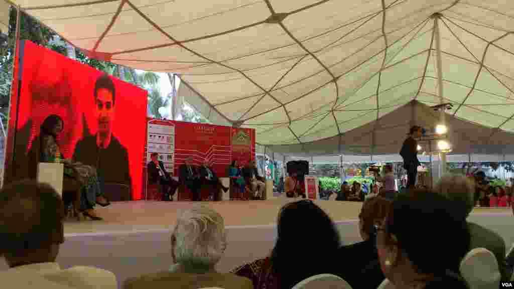 اس بار میلے کے مرکزی مہمانوں میں پاکستانی نژاد برطانوی ناول نگار ندیم اسلم بھی شامل ہیں